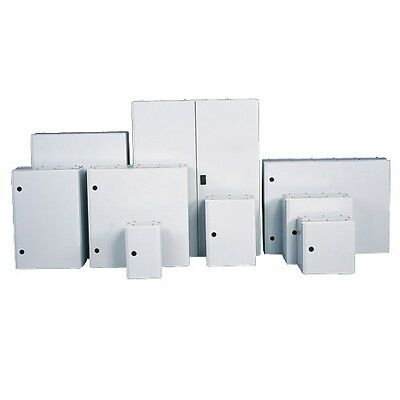 Steel Electric Enclosure Wall Mount Tempa Pano Box 600W X 600H X 200D IP65 Rated