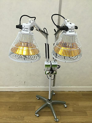 250W*2 Double Head Floor TDP Heat Therapy lamp for circulation and pain relief