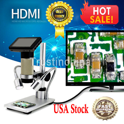 Andonstar ADSM201 1080P HDMI HD Microscope Magnifier for PCB Repair Tool Express
