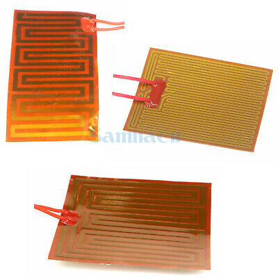 Multiple Flexiable Eeletric Polyimide Film Heater Heating element for 3D Printer