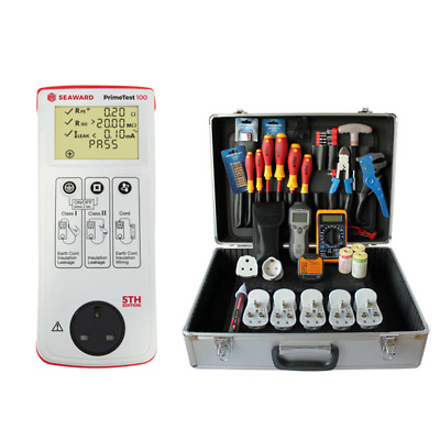 Seaward PrimeTest 100 with PAT Tester Business Kit PBK101 Wiha Screwdriver Set