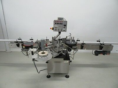 Cli Wrap Around Labeler For Round Bottles Model Uni-310 With Coder