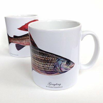 Grayling Mug by Mayfly Art