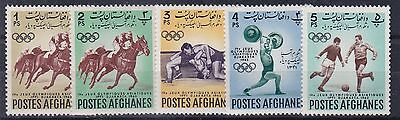 Afghanistan 1962   4Th Asian Games Set   M / N / H