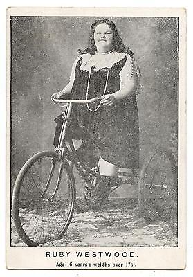 Ruby Westwood.fitzgerald Brothers Circus.esposition Universelle Paris 1900.