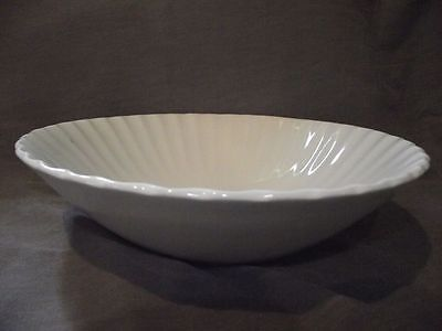 "J & G Meakin Classic White 8"" Round Vegetable Bowl"