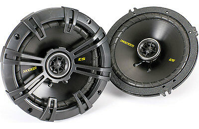 "Kicker 40CS654 6.5"" Coaxial Car Speakers (1 Pair). Brand New/Factory Sealed."