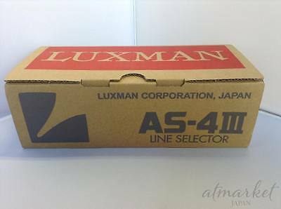 Offical Luxman AS-4III Audio RCA Line Selector from JAPAN