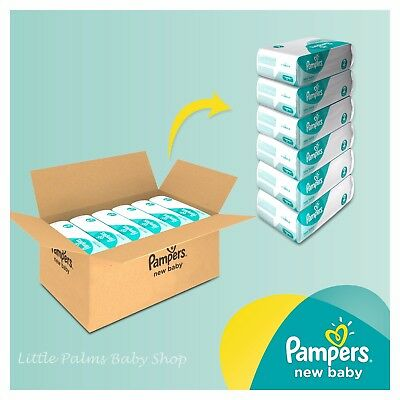 Pampers New Baby PREMIUM Protection Nappies MONTHLY SAVING Pack SIZE 0 1 2 3 4 5