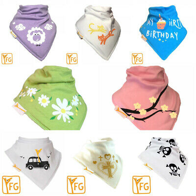 Funky Giraffe Baby Toddler Bandana Bib 100% Cotton  Dribble Dry LOTS OF DESIGNS