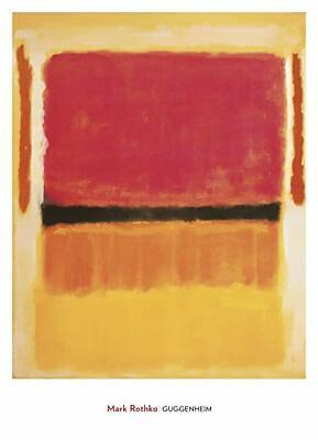 Untitled 1957 by Mark Rothko Art Print Blue Green Abstract Poster 36x28
