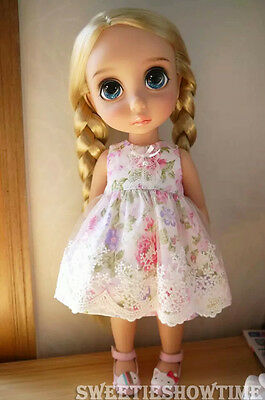 Disney Baby doll clothes Lace Dress clothing Animator's collection  FW NO DOLL