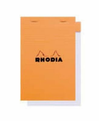 Rhodia Le Carre Orange - Lined 4 x 6 Notebook