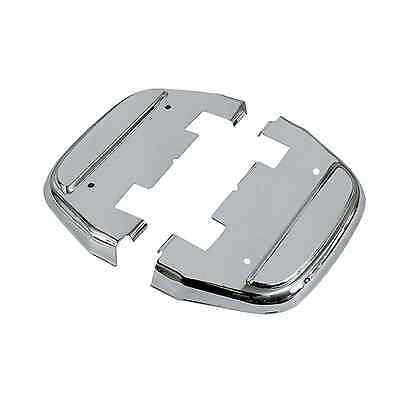 Trittbretter Abdeckung Cover Sozius Harley® Dyna Softail Touring chrom #50782-89