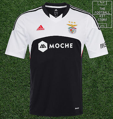 Benfica Away Shirt - Official adidas SL Benfica Football Shirt - All Sizes