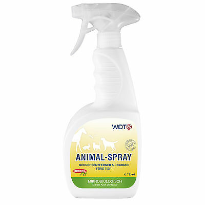 Biodor Pet Animal Spray 750 ml Geruchsentferner und Reiniger fürs Tier