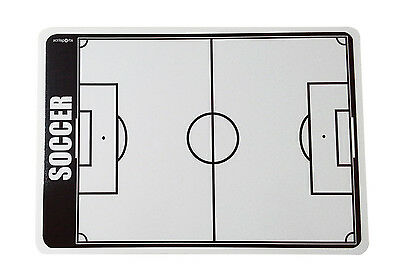 AcrilSports 2 sided Football Coaches Board Tactical Kit Dry Erase w/ Marker
