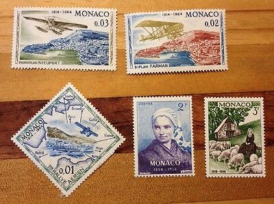 Assorted Stamps from Monaco