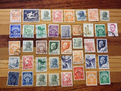 Assorted Stamps from Yugoslavia