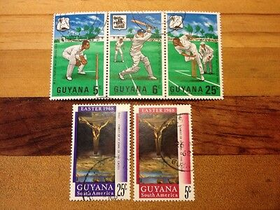 Assorted Stamps from Guyana