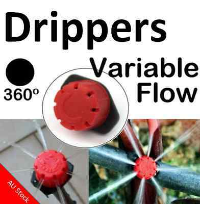 Adjustable Flow Water Irrigation Drip Dripper Drippers for Sprinkler System