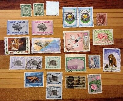 Assorted Stamps from the Middle East and Africa