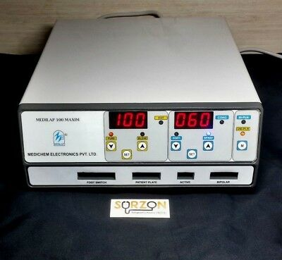 100Watt Digital Esu Electro Surgical Unit For Skin And Dermatology Medilap