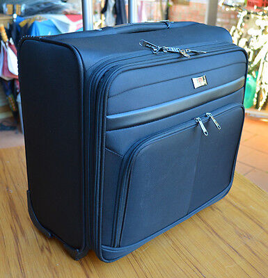 """15.6""""&17"""" laptop briefcase wheeled business briefcase 16"""" 18"""" travel luggage bag"""