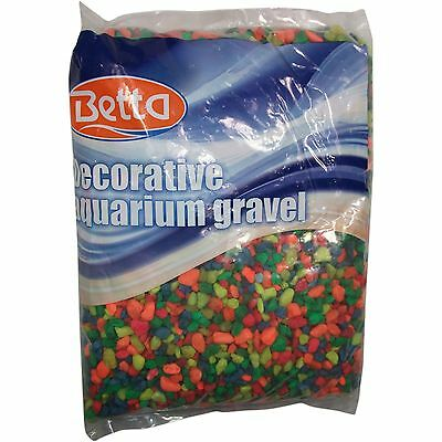 Betta Aquarium Gravel Substrate 5lbs In Assorted Colors