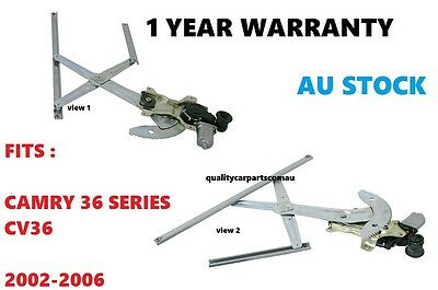 Electric Window Regulator front Right Hand fit Toyota Camry CV36 02-06 36 series