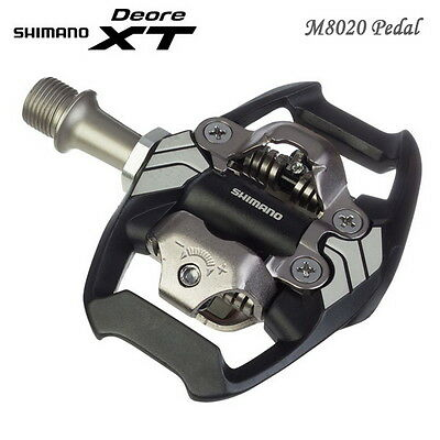 Shimano Deore XT M8020 Trail Pedal SPD Trail Enduro Pedals & Cleats