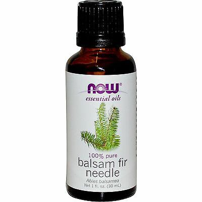 NOW Foods Balsam Fir Needle 1oz. Bottle For Diffusers & Burners!  Free Ship