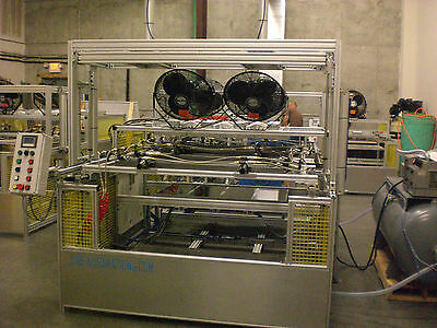 "Sibe Automation Vacuum Forming Machine 24"" X 48"" 2 Station Dual Heat Station"