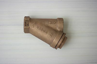 "Sarco Y-strainer bronze 3/4"" NPT (F), used, excellent condition"