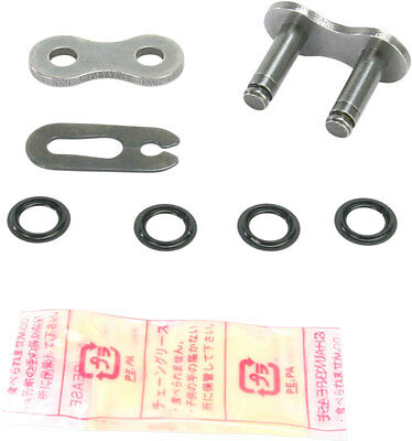DID 520 VX2 Pro-Street Series FJ X-Ring Clip Master Connecting Link (Natural)