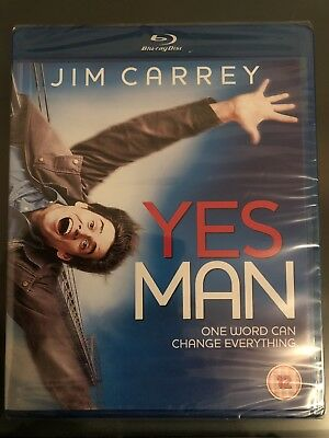 Yes Man*****Blu-Ray*****Region B*****New & Sealed