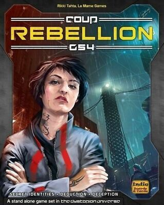 Coup Rebellion G54 Board Game Card Game - Brand New