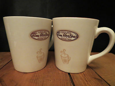 TIM HORTONS Coffee Mugs Lot Of 2 Limited Edition No 007