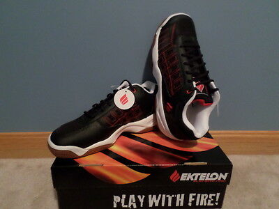 Racquetball (indoor) Shoes Ektelon NFS Low Classic II Black Size 7 (Prince)