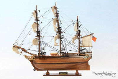 New Hms Bounty Wooden Scale Model Tall Ship Boat Gift 45Cm