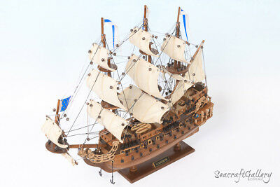 NEW SOLEIL ROYAL 1669 WOODEN MODEL TALL SHIP BOAT GIFT DECORATION 45cm