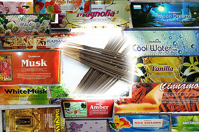 120 Sticks Darshan Incense Choose Your Scents Original insense Free Shipping
