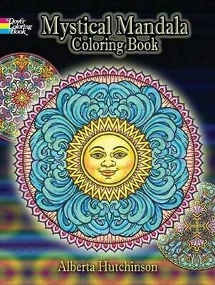 Mystical Mandala Coloring Book (Dover Design Coloring Books), New, Free Shipping