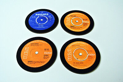 David Bowie Singles Collection 45 Great New COASTER Set