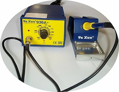 Ya Xun Top Quality 936A Soldering Station With 3 Pin Plug Temperature Control