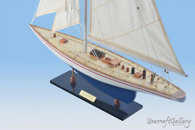 Enterprise Wooden Model Yacht Ship Boat Sailboat Gift Decoration 60Cm