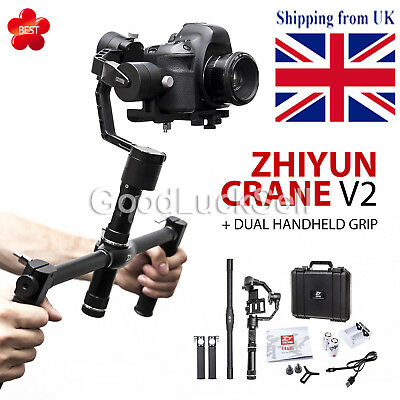 Feiyu MG Lite 3-Axis Brushless Handheld Gimbal Stabilizer f DSLR Mirrorless Cam.