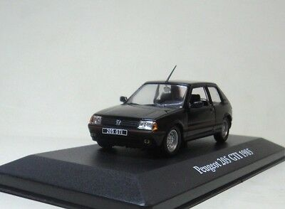 ATLAS 1:43 Peugeot 205 GTI 1985 Die-cast car model