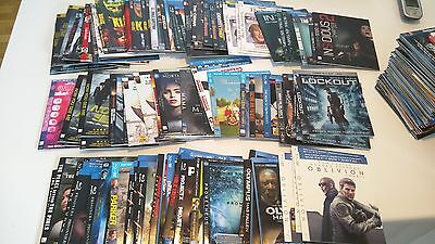 Standard Blu-Ray Slipcovers (Letters J to Q) *LOOK*