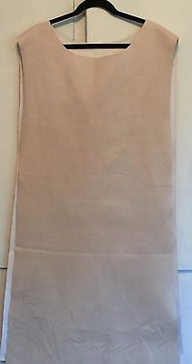 Renaissance Medieval Sir Coat Tabard Costume Accessory Faux Suede Tan-Osfa